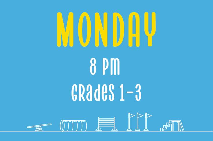 Read more about the article Monday<br> 8pm<br> Grades 1-3 <br> Nicola Wildman