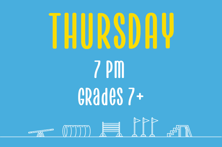 You are currently viewing Thursday<br> 7pm<br> Grades 7+ <br> Nicola Wildman