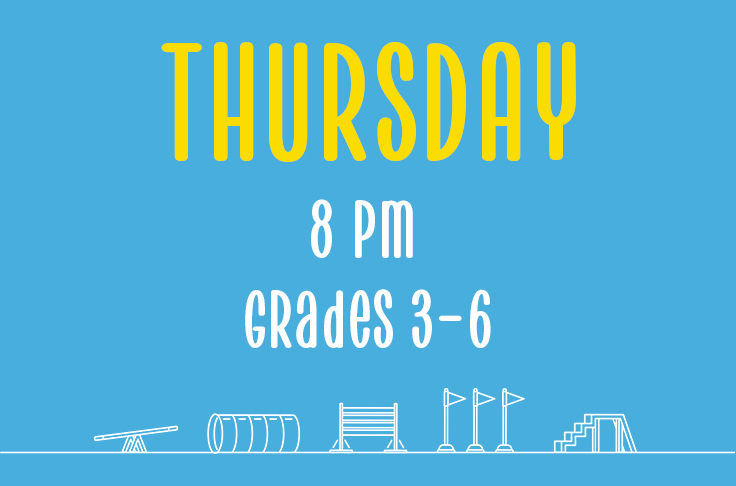 Read more about the article Thursday<br> 8 pm<br> Grades 3-6 <br> Nicola Wildman