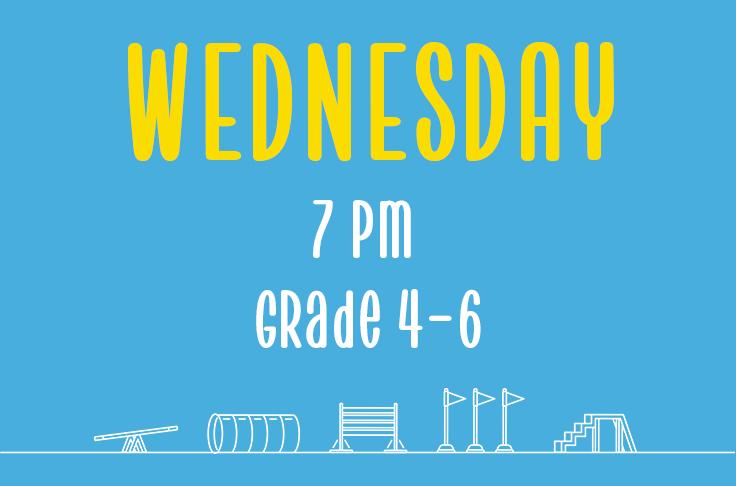 Wednesday<br> 7pm <br>Grade 4-6<br> Nicola Wildman – Barton