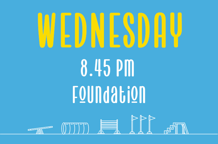 Read more about the article Wednesday<br> 8.45pm<br> Foundation <br> Laura