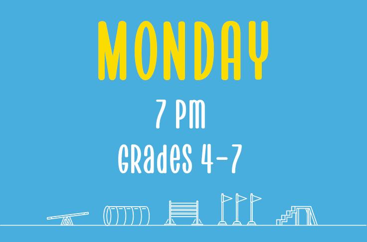 Read more about the article Monday<br> 7pm<br> Grades 4-7 <br> Nicola Wildman