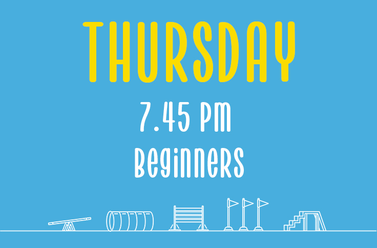 You are currently viewing Thursday<br> 7.45pm<br> Beginners<br> Hannah