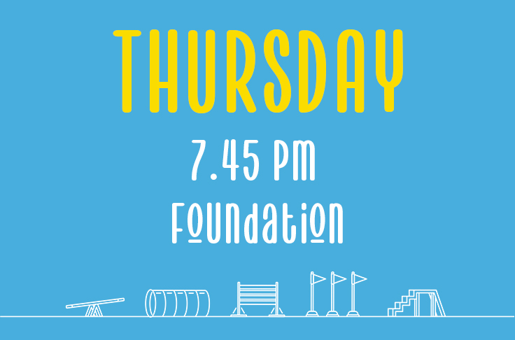 You are currently viewing Thursday<br> 7.45pm<br> Foundation <br> Becky Willicombe