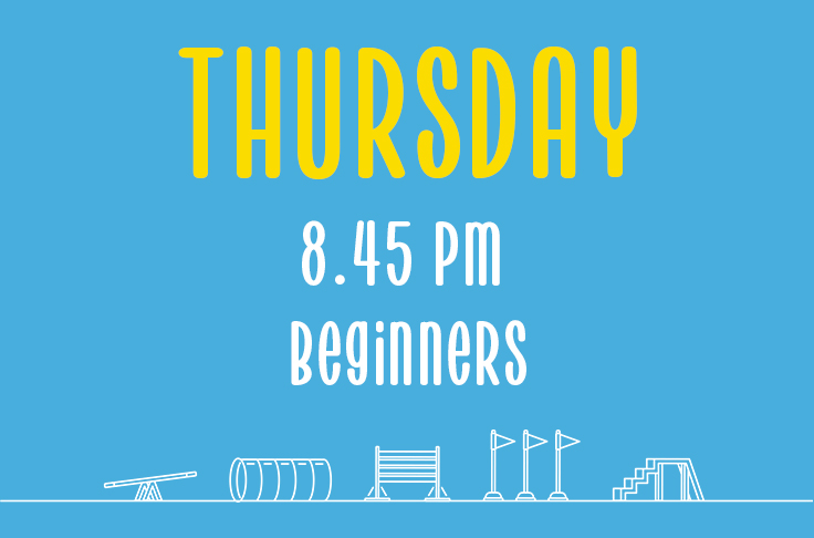 Read more about the article Thursday<br> 8.45pm<br> Beginners <br> Becky Willicombe